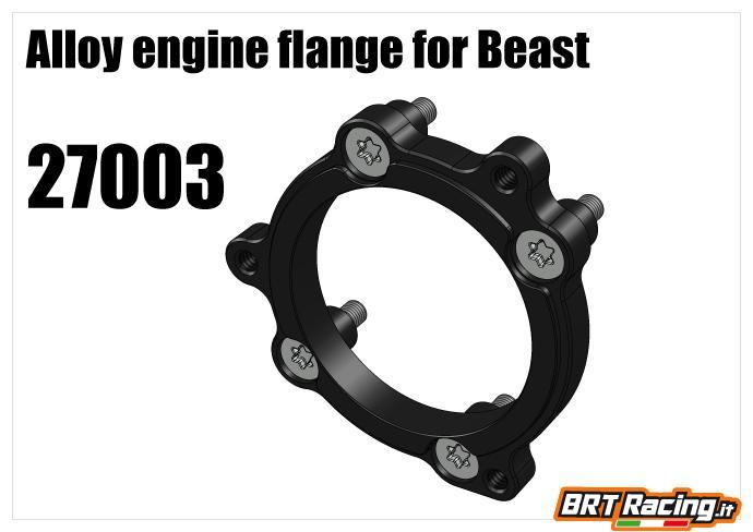 RS5 XT18 flangia fissaggio Beast 27003